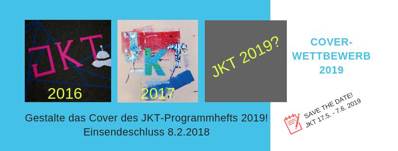 Werbeflyer zum Coverwettbewerb der Jugend-Kultur-Tage 2019 Einsendeschluss 8.2.2019